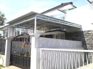canopy galvalum sidoarjo murah