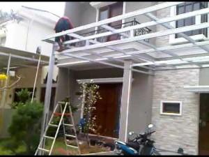 canopy rumah