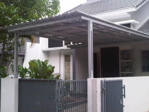 canopy galvalum sidoarjo elegan 3