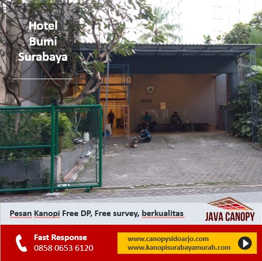 canopy sidoarjo terbaik